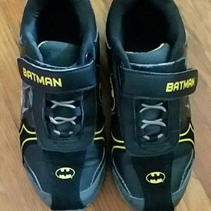 Other - Kid Batman light up shoes worn once